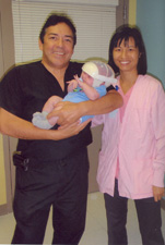 Dr. David Jimenez, Rigdon and Wai-Yee Choi, RN